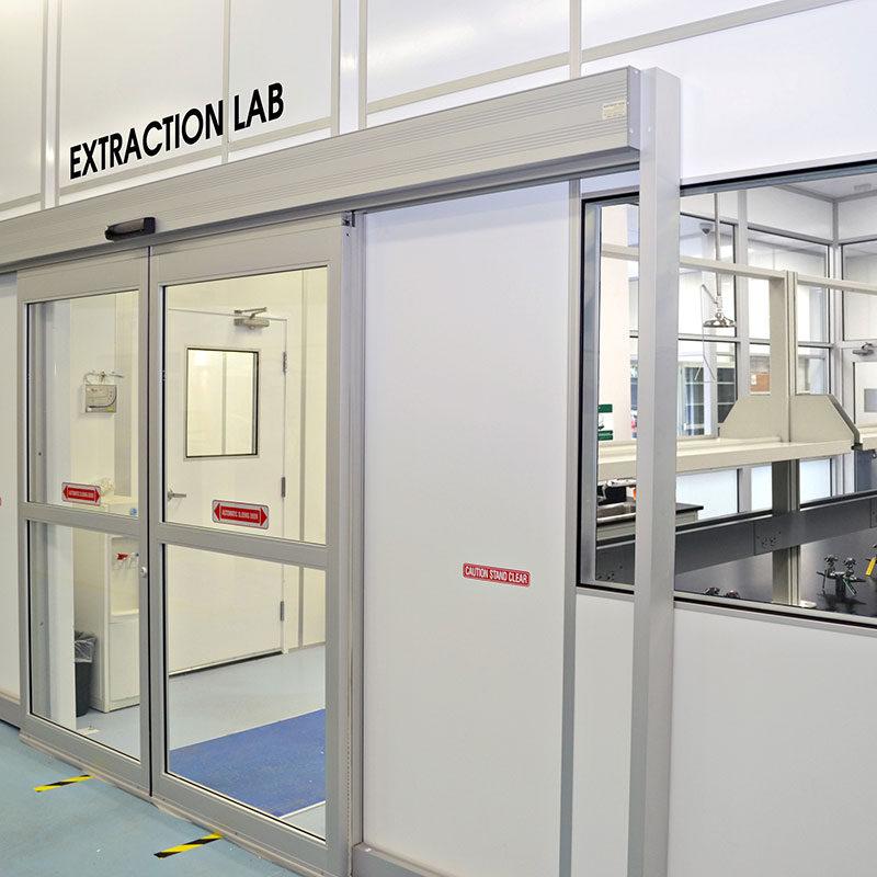 C1D1 Extraction Lab - Modular Cannabis grow rooms